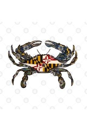 TatFast White Maryland Flag Crab Kupa 2