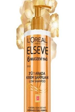 Elseve Mucizevi Yağ 3'ü 1 Arada Low Shampoo Krem Şampuan 3600523585267 1