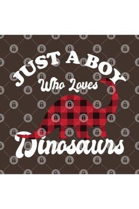 TatFast Just A Boy Who Loves Dinosaurs Kupa 2