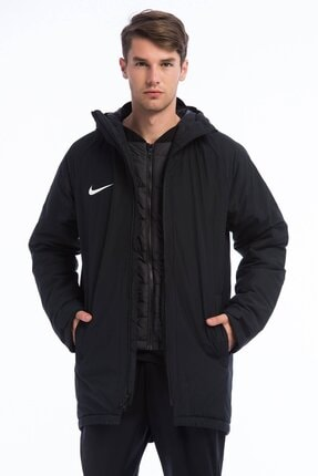 Nike Erkek Siyah Mont 893798-010 M Nk Dry Acdmy18 Sdf Jkt 1