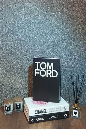 Vivas Tom Ford Dekoratif Kitap Kutusu 0