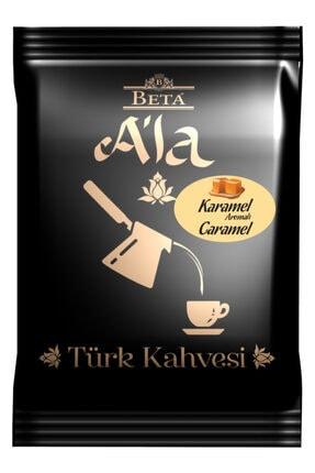 Beta Tea Karamel Aromalı Türk Kahvesi 100 gr 0