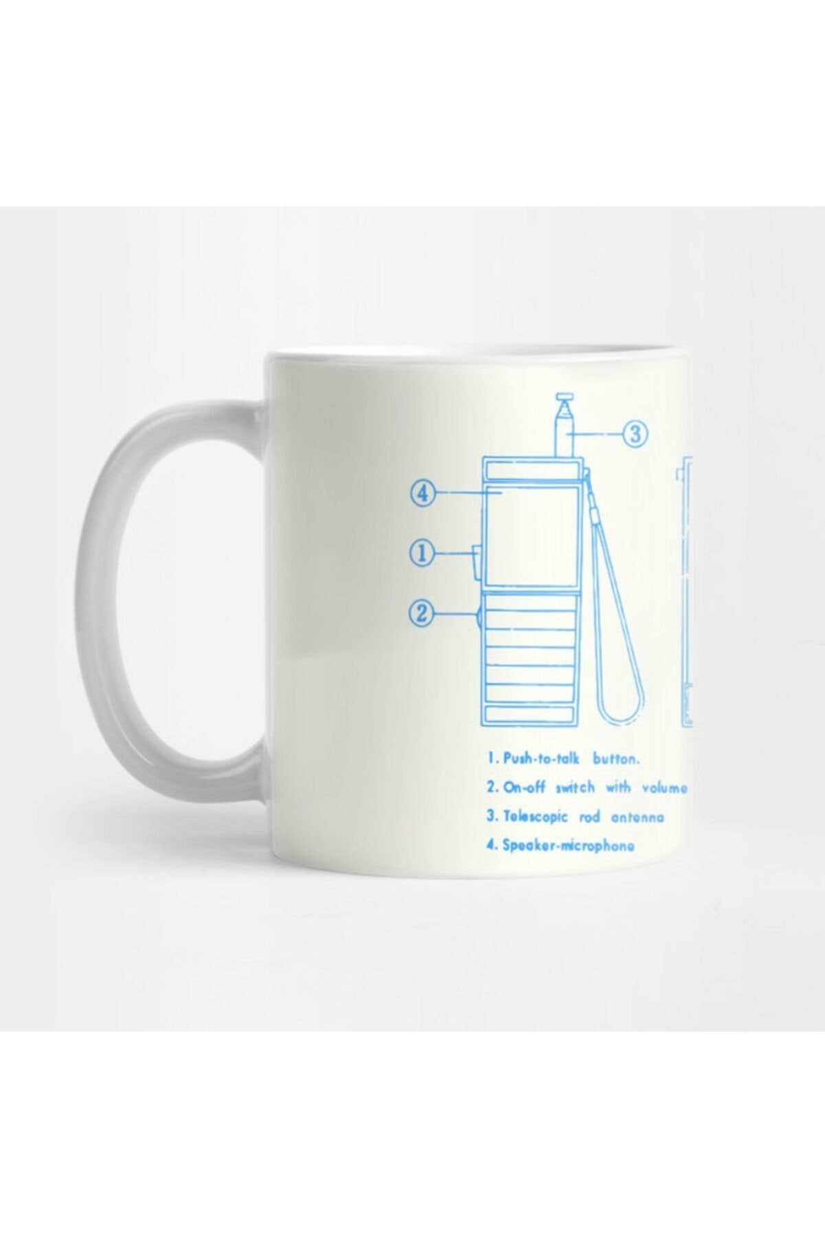 Blueprints Walkie Talkie Secret Technology Schematic Communication Kupa