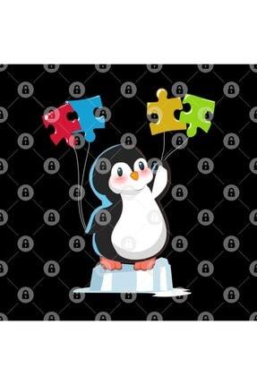 TatFast Cute Funny Penguin Autism Awareness Kupa 2