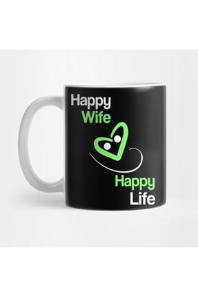 TatFast Happy Wife Happy Life Kupa 0