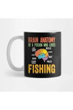 TatFast Brain Anatomy Of A Person Who Loves Fishing Kupa 0