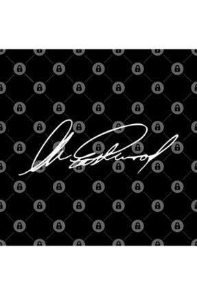 TatFast Clint Eastwood's Signature White On Black Kupa 2