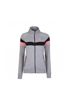 HUMMEL Kadın Gri Pembe Sweatshirt 0