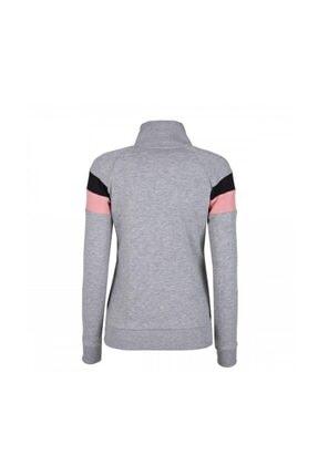 HUMMEL Kadın Gri Pembe Sweatshirt 1