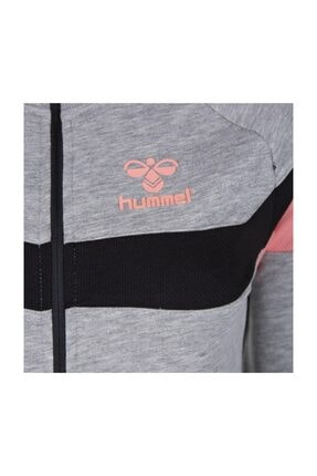 HUMMEL Kadın Gri Pembe Sweatshirt 3
