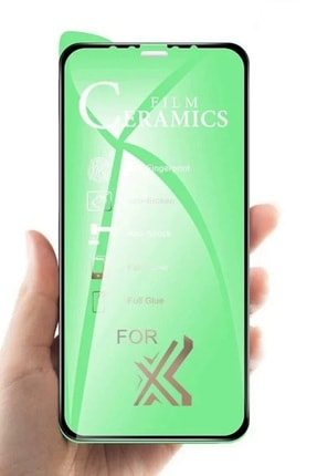Apple Iphone 8 Nano Film Koruyucu Flexible Cam 9d Kırılmaz Fiber ( Beyaz ) 0