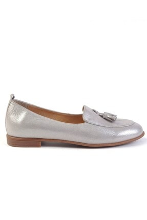 Burç Kadın Vizon Sim Hakiki Deri Ayakkabı 4010 2