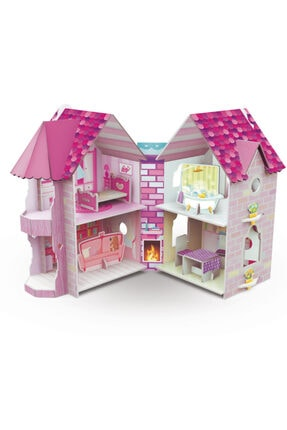 Sassi Junior 3d Karton Seti // Dollhouse 0
