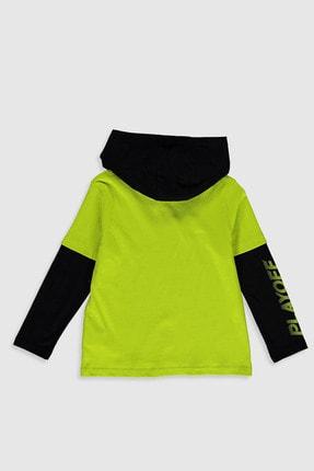 LC Waikiki Erkek Çocuk Canlı Yeşil Fxg T-Shirt 0