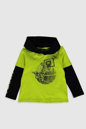 LC Waikiki Erkek Çocuk Canlı Yeşil Fxg T-Shirt 1