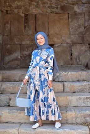 Loreen Kadın Mavi Etekli Takım 1