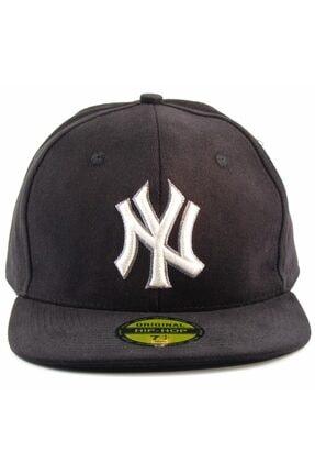 Takı Dükkanı NY Cap Hip Hop Şapka Siyah  Şapka 0