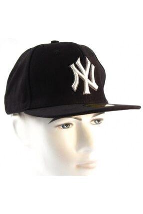 Takı Dükkanı NY Cap Hip Hop Şapka Siyah  Şapka 3