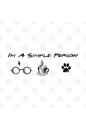 TatFast Im A Simple Person,dog Cat Lover,wizard Magic Kupa 2
