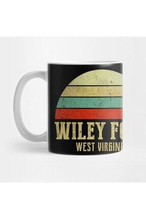 TatFast Wıley Ford, West Vırgınıa Vintage Retro Sunset Kupa 0