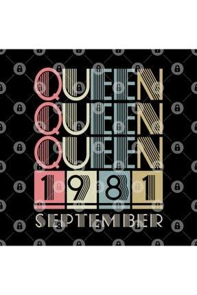 TatFast 1981 - Queen September Retro Vintage Birthday Kupa 2