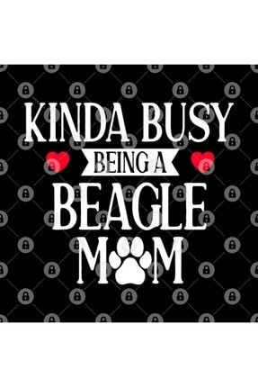 TatFast Funny Mother's Day Kinda Busy Being A Beagle Mom Funny Novelty Beagle Mom Gift Kupa 2