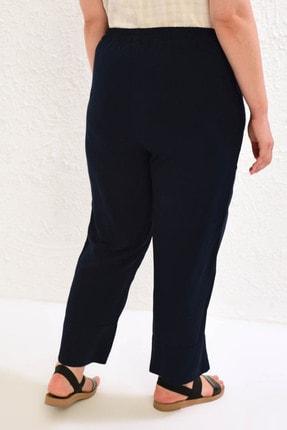 LC Waikiki Kadın Lacivert Pantolon 0WCC37Z8 1