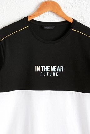 LC Waikiki Erkek Yeni Siyah Tişört 0SE291Z8 0