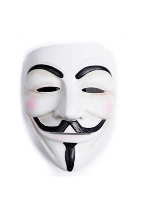 CAN OYUNCAK V For Vendetta Sert Plastik Maske 0