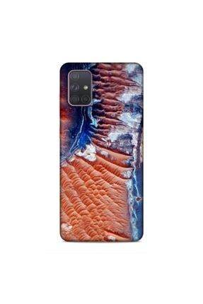 Pickcase Samsung Galaxy A71 Kılıf Desenli Arka Kapak Atom Içi 0