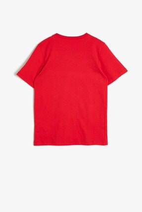 Koton Erkek Çocuk Kırmızı T-Shirt 0YKB16262OK 3