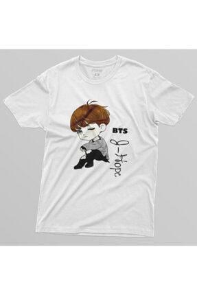 Crazy Bts J Hope Cartoon Erkek Tişört 3