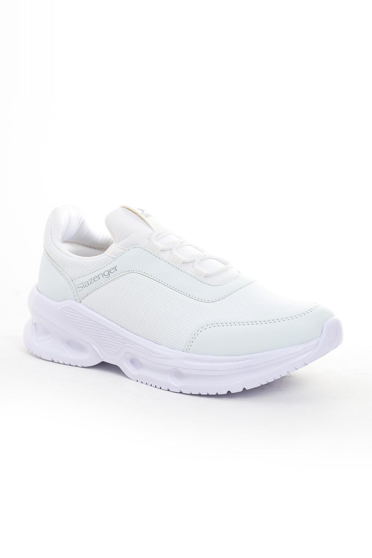 Slazenger Kadın Beyaz Zebra Garson Spor Ayakkabı