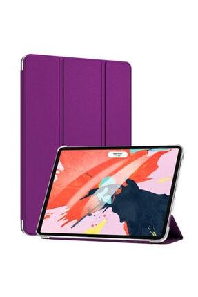 MOBAX Apple Ipad Air 2 Kılıf Pu Deri Smart Case A1566 A1567 Mor 1