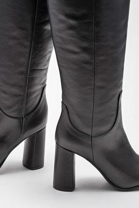 Elle Kadın Adrano-1 Sıyah Çizme 20K052 3