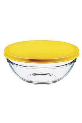 Paşabahçe Chefs Saklama Kabı 3'lü 53553 Sarı Kapakl 53553 0