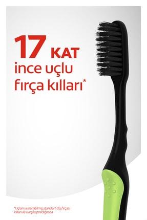 Colgate Mikro İnce Siyah Yumuşak Diş Fırçası 1+1 1