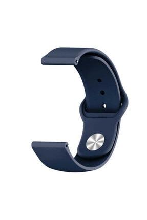 Samsung Galaxy Watch 3 45mm Klasik Silikon Kordon (sağlam Esnek Dizayn) Mavi 0