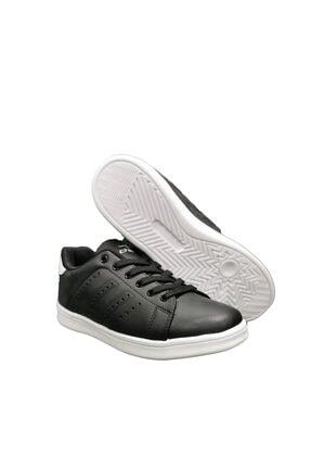 Cheta Siyah Beyaz Günlük Sneakers Spor Ayakkkabı Cht003 2