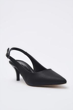 Hotiç Siyah Kadın Klasik Topuklu Ayakkabı 01AYH205370A100 2