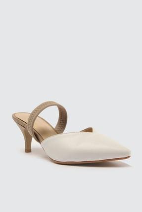 TRENDYOLMİLLA Beyaz Kadın Klasik Topuklu Ayakkabı TAKSS21TO0004 2