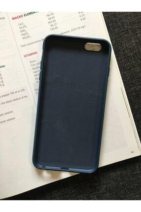 SUPPO Iphone 6 Plus Uyumlu Logolu Lansman Içi Kadife Silikon Kılıf 1