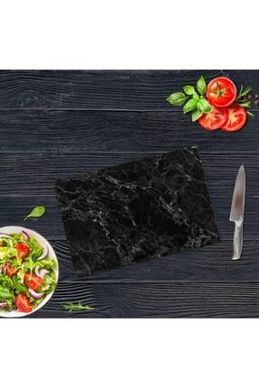 Saban Siyah Mermer | Cam Kesme Tahtası - Cam Kesme Tablası | 20 Cm X 30 Cm 4