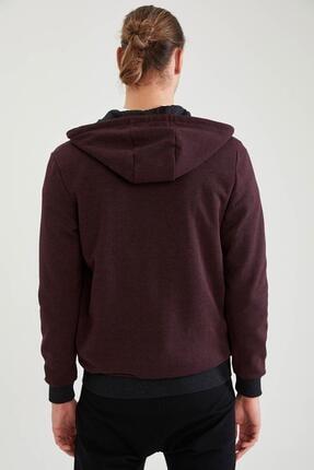 Defacto Erkek Kapüşonlu Fermuarlı Sweatshirt 3