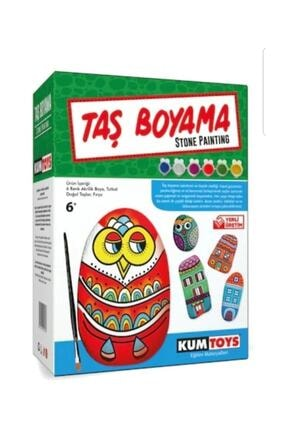 Redka/KumToys 5307 Kumtoys Taş Boyama 0