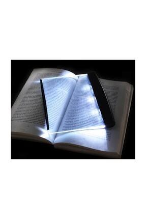 Zzn Kitap Aydınlatıcı Led Panel Okuma Çerçevesi Işıklı Kitap Ayracı 2