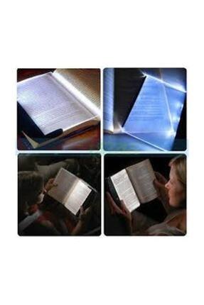 Zzn Kitap Aydınlatıcı Led Panel Okuma Çerçevesi Işıklı Kitap Ayracı 4