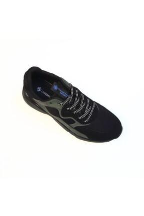 Lumberjack Erkek Siyah Sneaker Ayakkabı 100536294 4