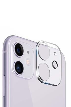 YGT Apple Iphone 11 Uyumlu 3d Kamera Lens Koruyucu 0