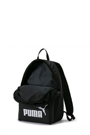 Puma Unisex  Siyah Phase Backpack Sırt Çantası 1